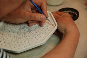 schilderen met waxresist