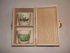 geschenk set espresso kopjes