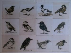 tegels in coproductie met Gerda van Kersbergen